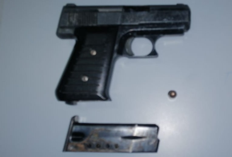 Man Arrested for Unlicensed Firearm