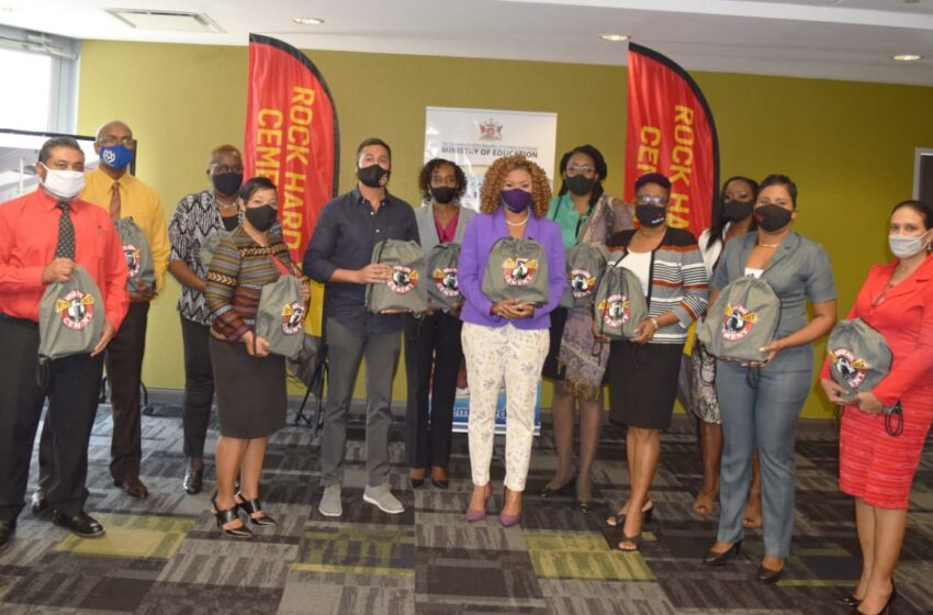 Rock Hard gives 200 Devices to Schools