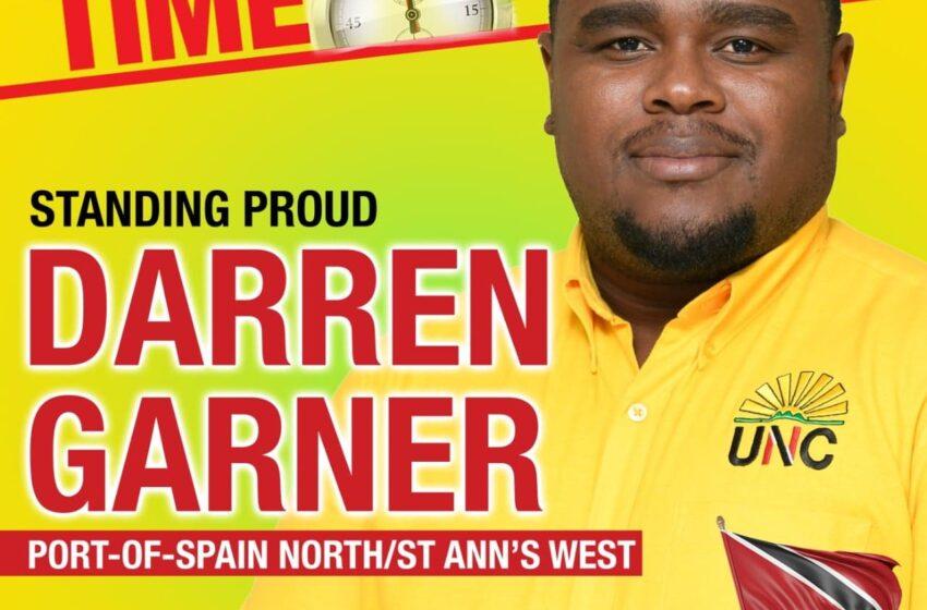 Darren Garner Pulls Out of UNC Internal Elections