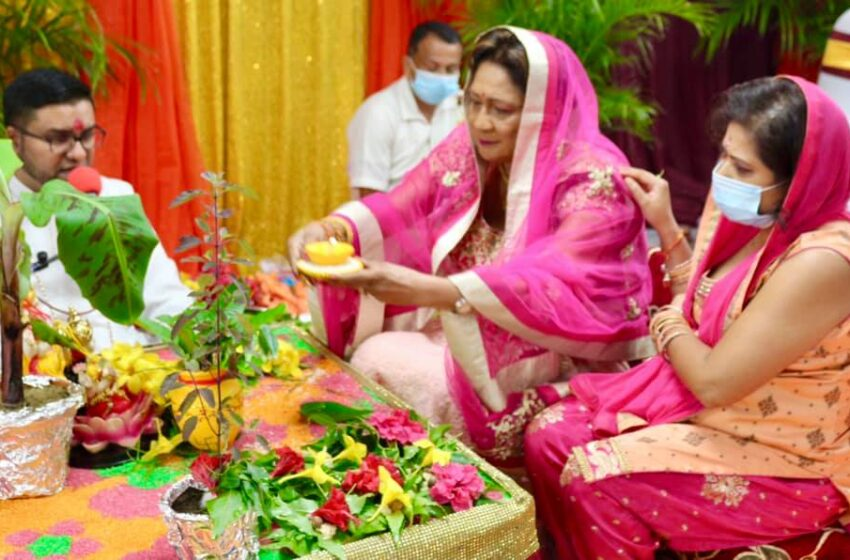Kamla's Divali Message…  New Normal is also Time Spent with Family