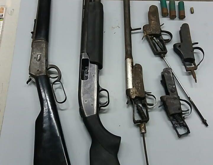 Man, 63, Held with 3 Shotguns