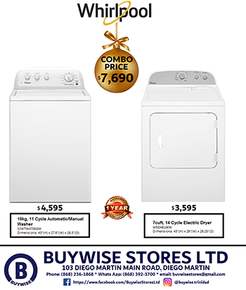 Buywise Washer Dryer Combo