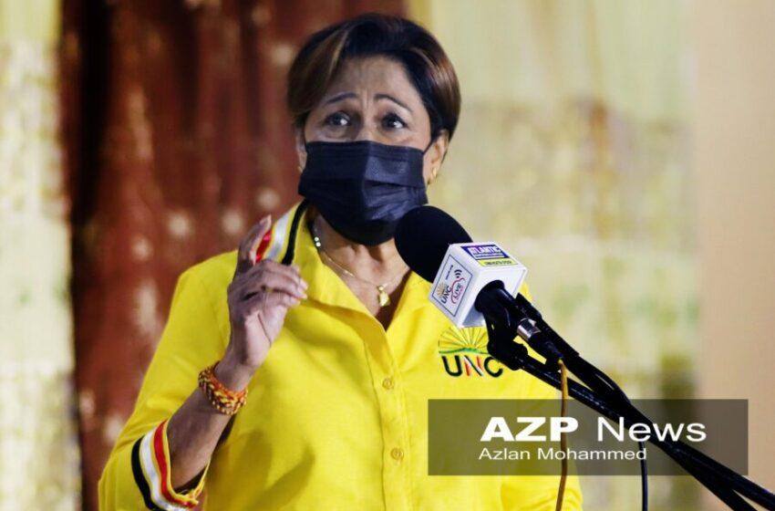 Kamla Calls on Women to Stand Up