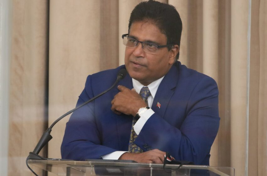 Moonilal Calls On Rowley to Take Sinopharm Vaccine First