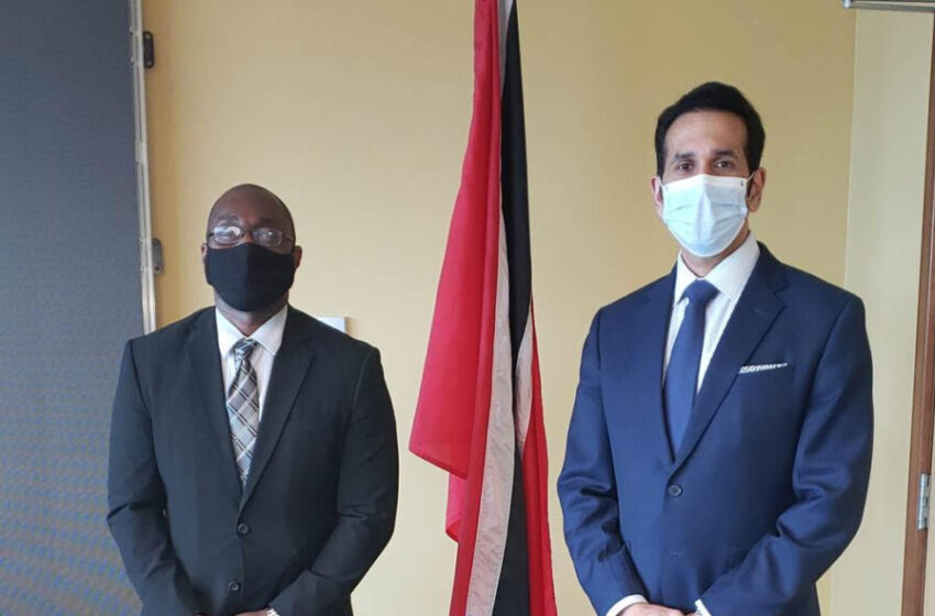 AG Meets US Deputy Chief of Mission