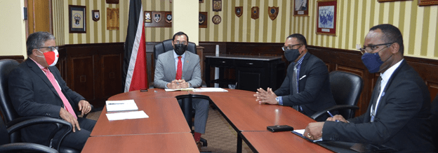 Ministers Meet with Canada Commissioner on T&T Farm Workers
