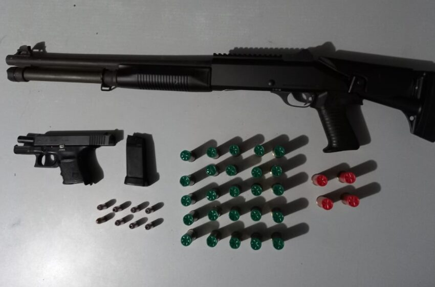 Police Find Firearms, Ammo in Caroni