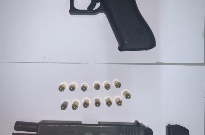 Guns, Ammo Found at Birthday Party