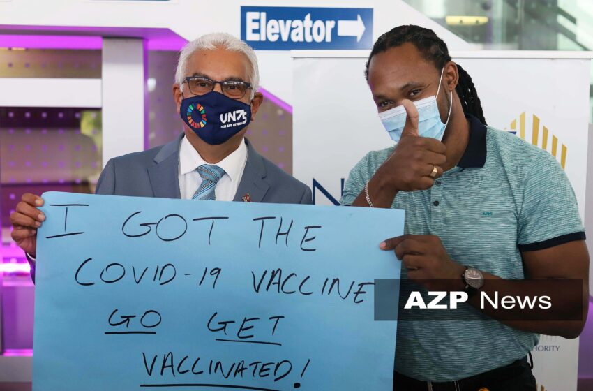 Deyalsingh says Sorry: First Batch of Covid-19 Vaccines in T&T is Gift from Barbados