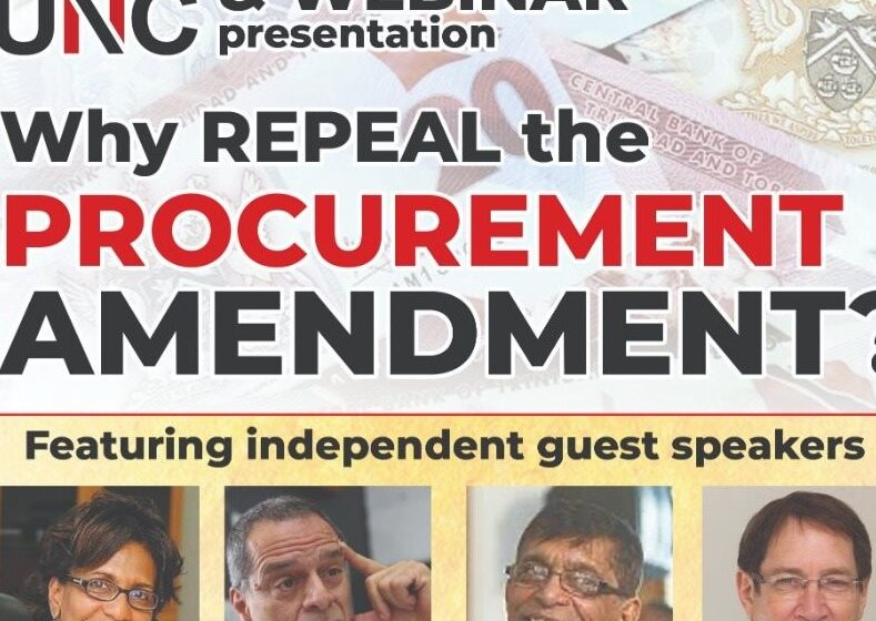 UNC Creates Online Petition for Repeal of Procurement Law