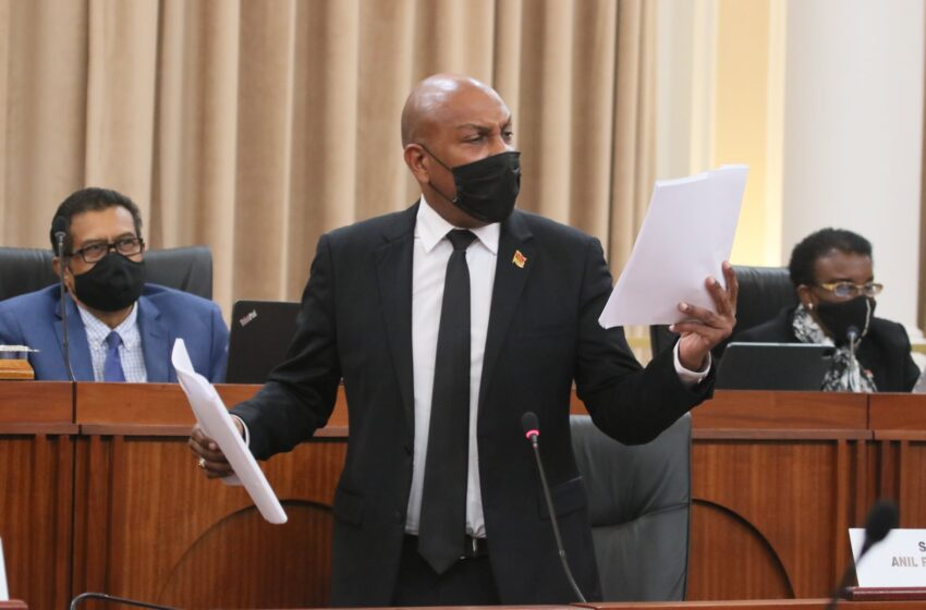 Anil Roberts Reported to Privileges Committee
