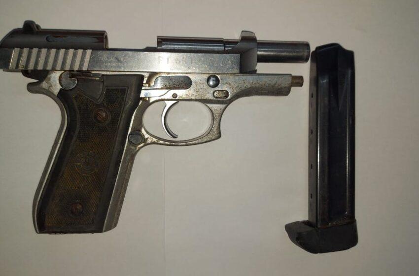 Syrian Held in Belmont for Pistol, Ammo