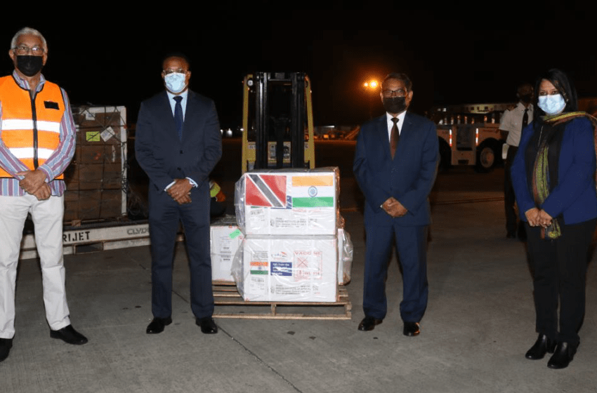 Indian High Commissioner Thanks PM, Kamla On Arrival of 40,000 Covid-19 Vaccines