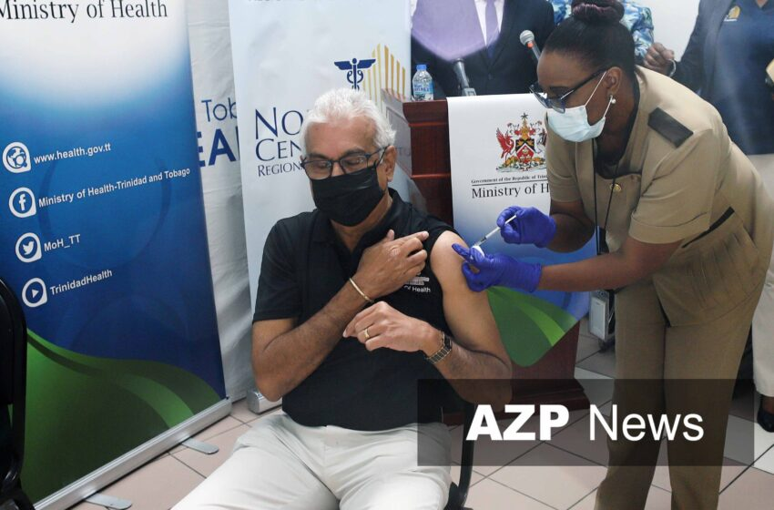 T&T Health Minister Gets His Covid-19 Vaccine