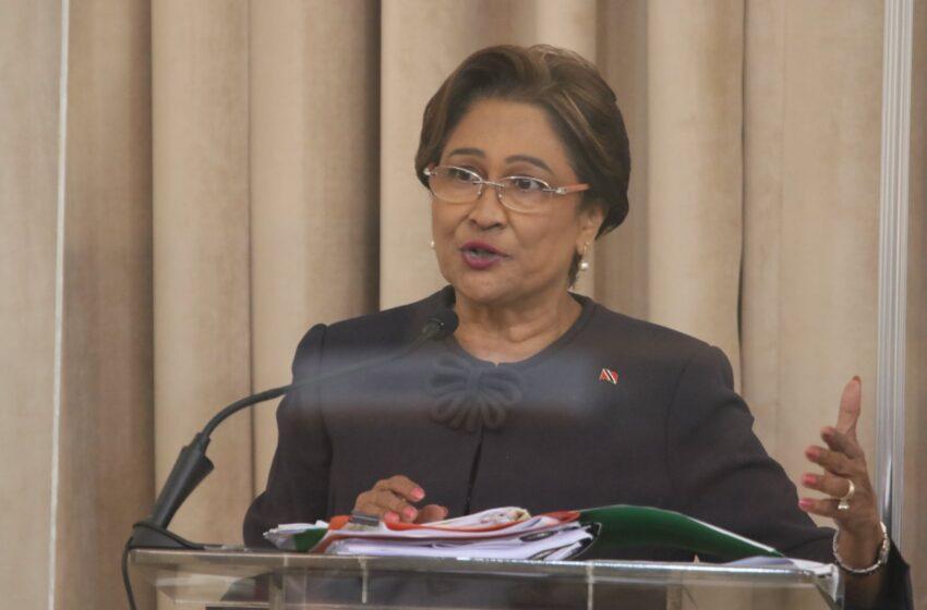Kamla: PNM Creates Economic Pandemic for T&T