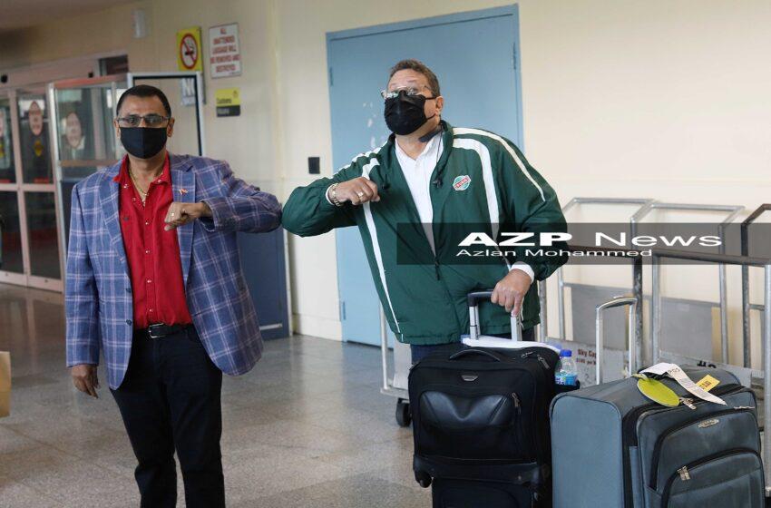 17 Passengers Arrive on 1st Flight as T&T Borders Open