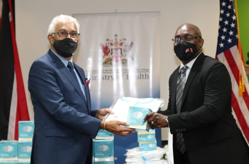 US Donates PPE to Health Ministry