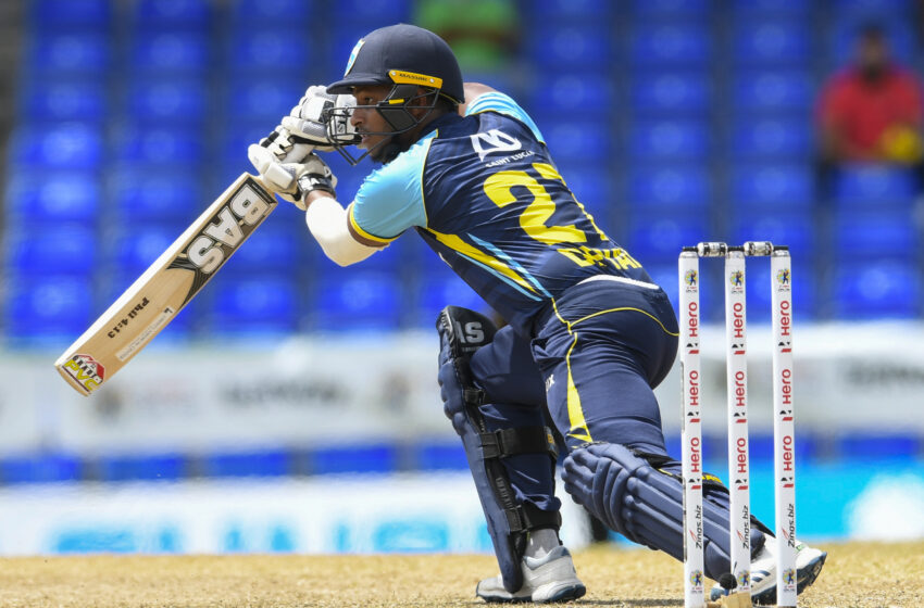 Deyal Bats Kings into CPL Final  Defending Champions TKR Knocked Out