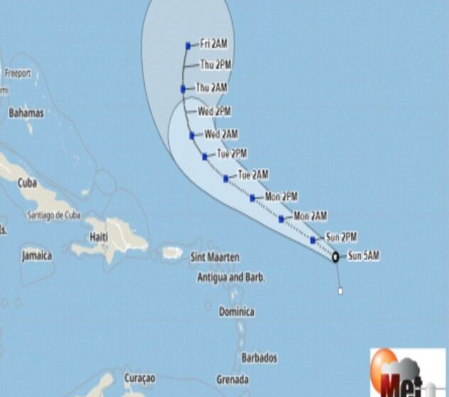 Tropical Storm Peter Forms