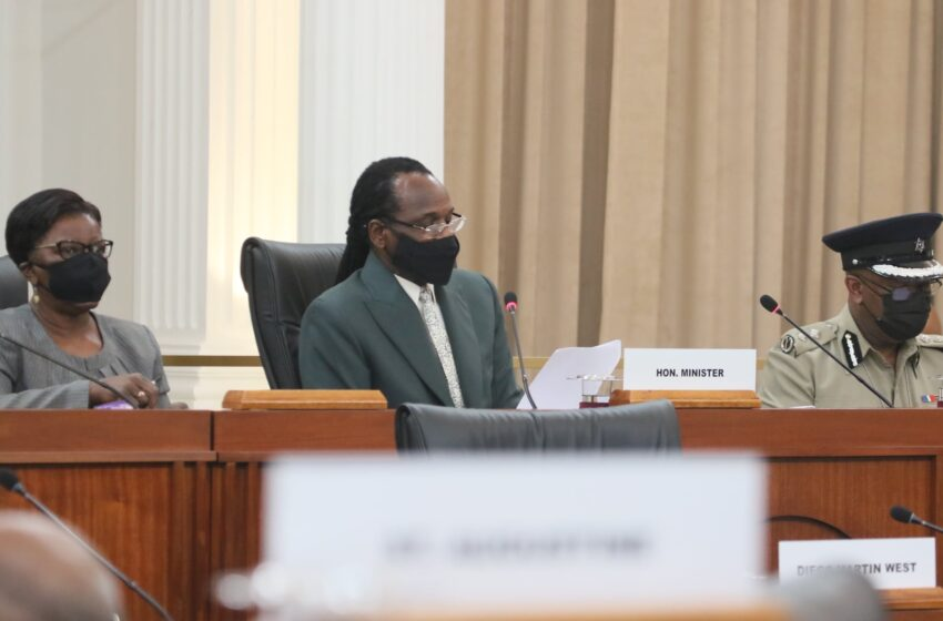 Fitzgerald Hinds in Parliament