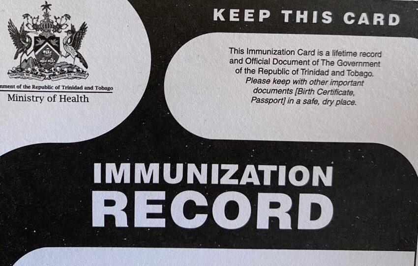 Digital Immunization Card Coming